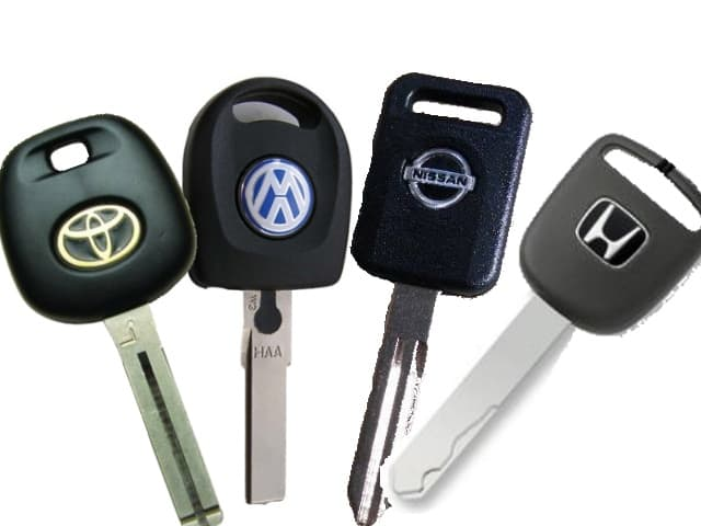 Various keys for cars, homes, and businesses in Albuquerque and Rancho Rio